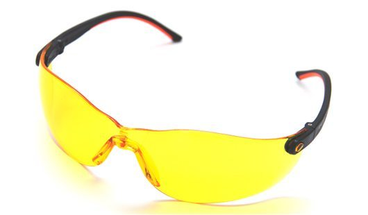 Montana Safety Spectacles Amber JBT-2204