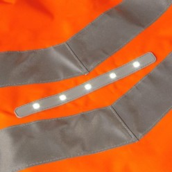 Pulsar® Rail Spec Active Storm Coat With Led Technology