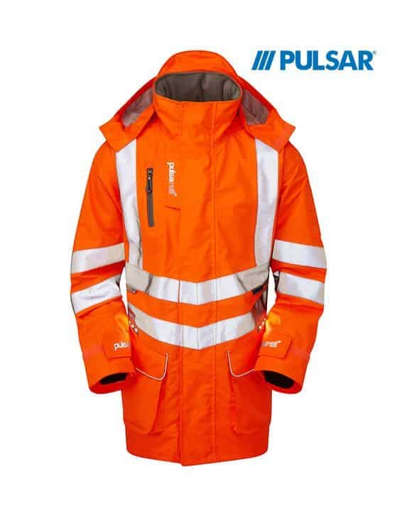 Pulsar® Rail Spec Active Storm Coat With Led Technology