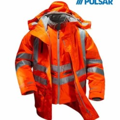 Pulsar® Rail Spec 7-In-1 Storm Coat C/W Interactive Body Warmer