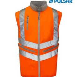 Pulsarail Inner Body Warmer - Reversible, Detachable Sleeves