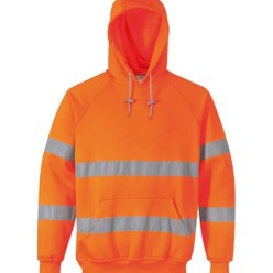 Hi Vis Hooded Sweatshirt
