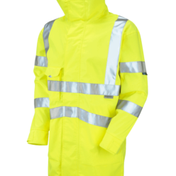Hi Vis Breathable Microporous Interactive Jacket