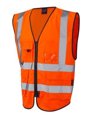 Hi Vis Vest with Pockets