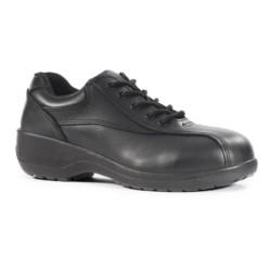safety-shoe-ladies-panelled-tie-bx-038-bk