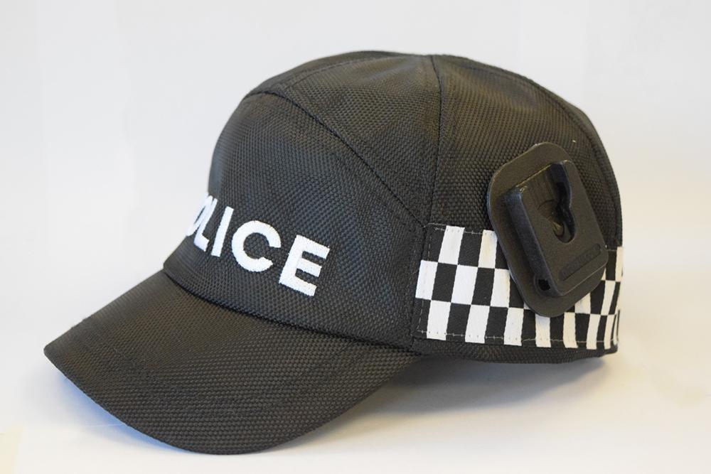Police police hat klickfast