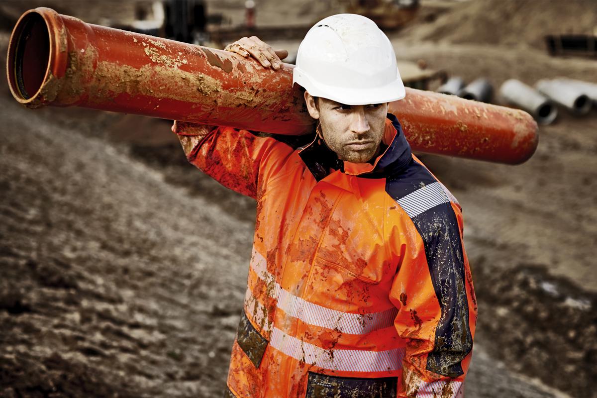 industry workwear and ppe Our Industries utilities hi vis orange
